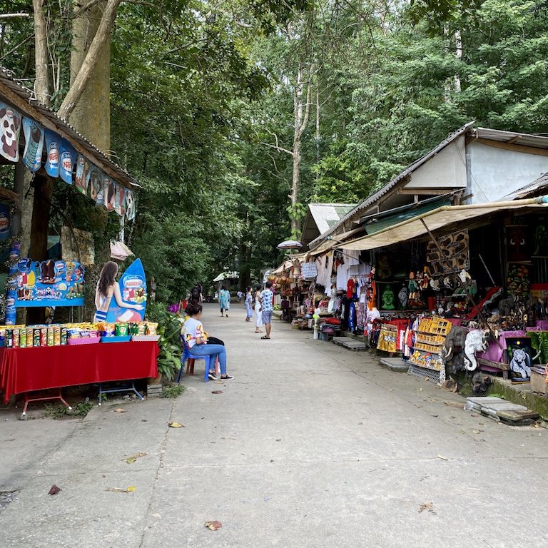 Koh Samuis Erlebnis - Namuang 1 Wasserfall