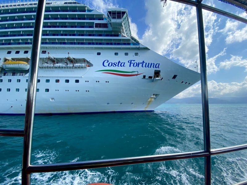 Costa Fortuna - Tendern vor Koh Samui
