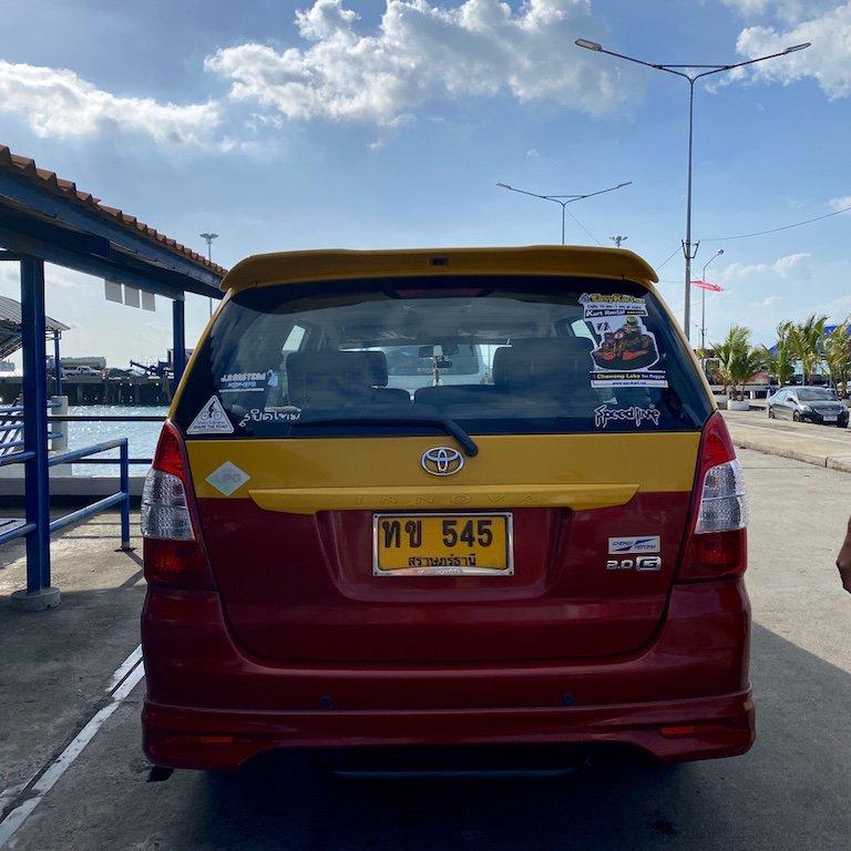 Koh Samui erleben - Taxi