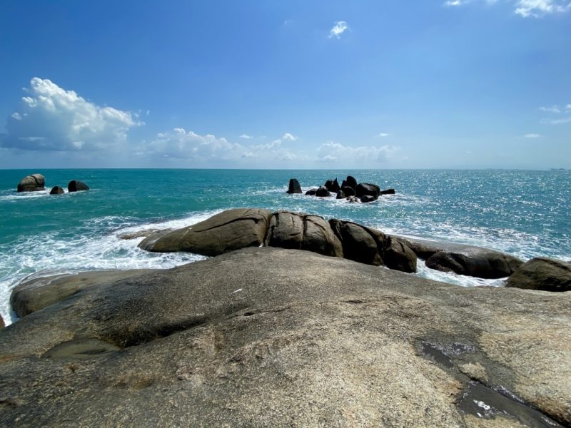 Koh Saums Aussichtspunkt Hin Ta Hin Yai