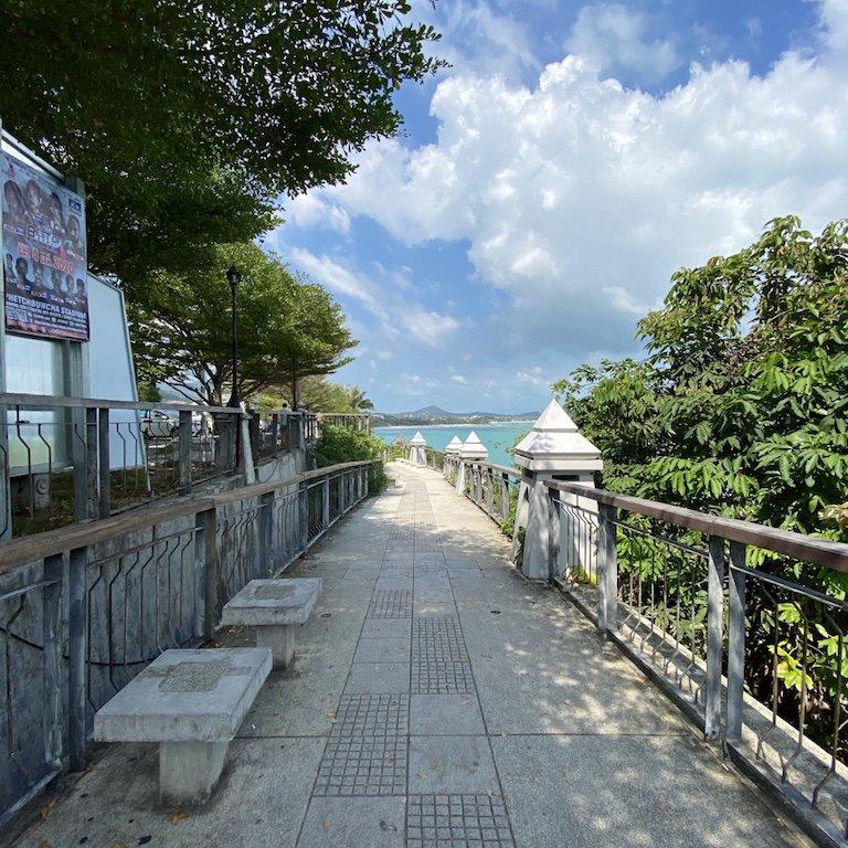 Koh Samui viewpoint - Weg zum Koh Lad Aussichtspunkt
