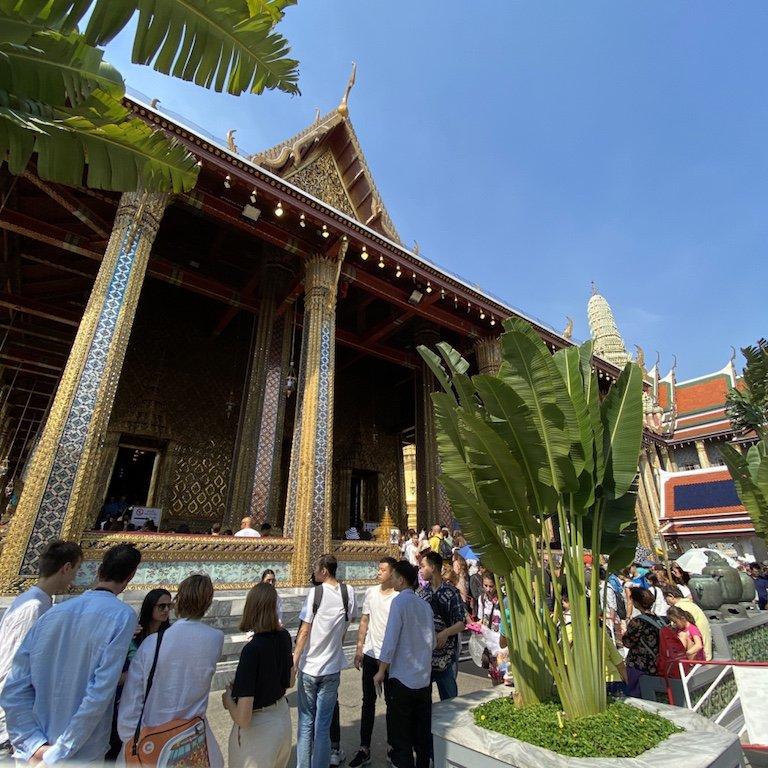 Sehenswürdigkeiten von Bangkok erleben, im Grand Palace