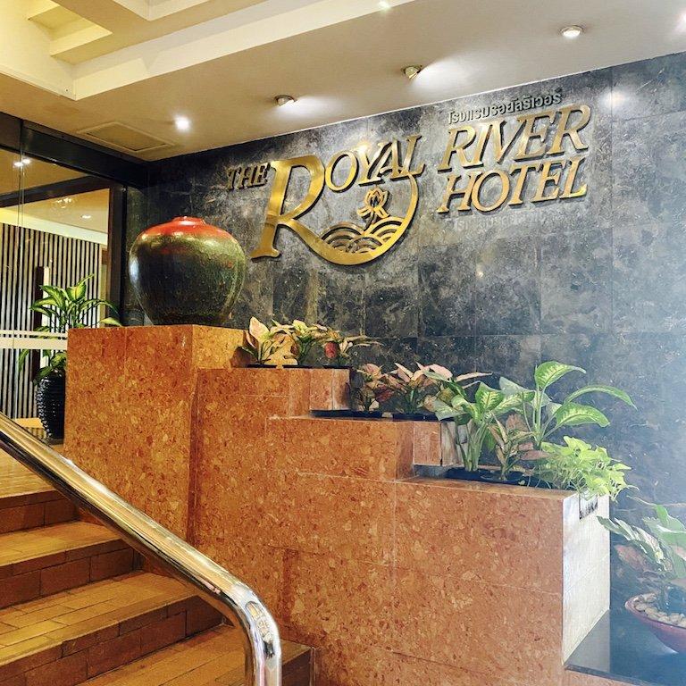 Essen, im Riverside Hotel, Bangkok, Ausflug