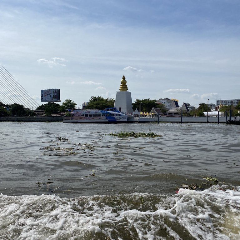 Highlights von Bangkok, Bootsfahrt auf dem Chao Praya, Ausflug