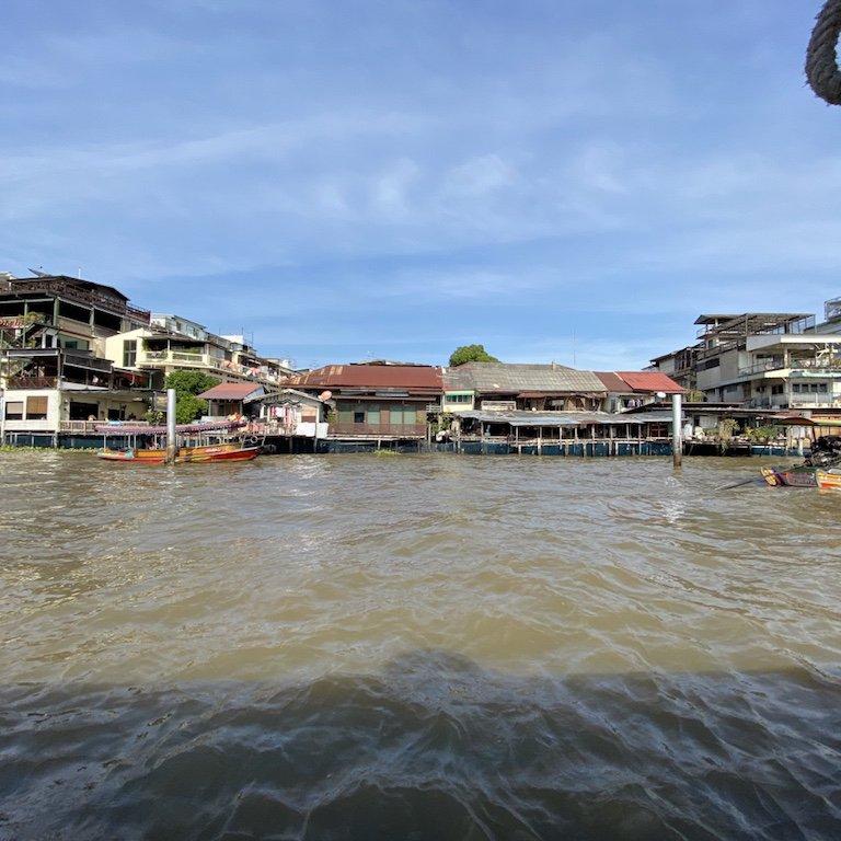 Bangkok erleben, auf dem Chao Praya, Ausflug