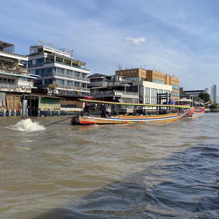 Bangkok entdecken, auf dem Chao Praya