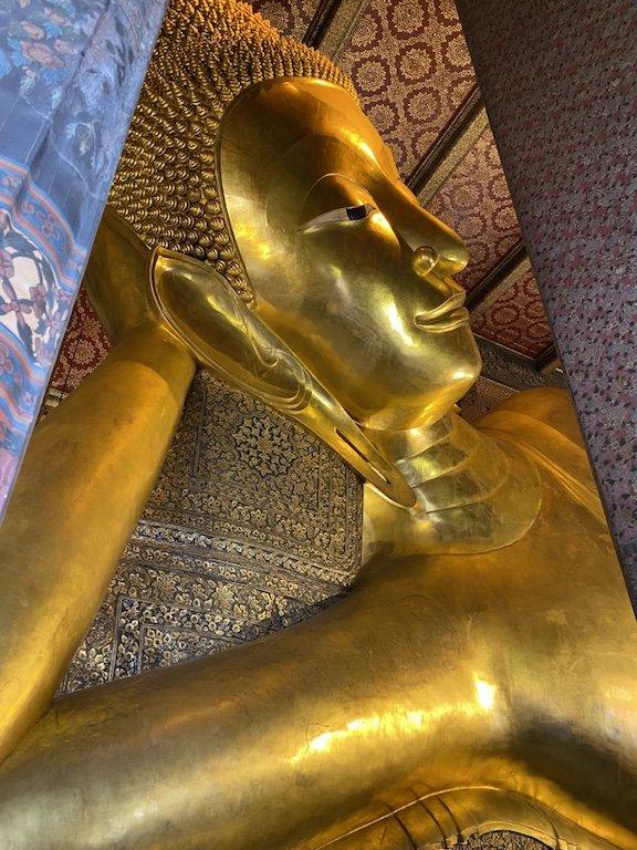 Highlight von Bangkok, Wat Pho Besuch liegender Buddha