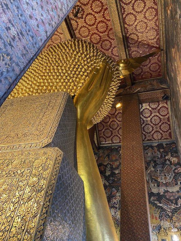 Bangkok sehen, Wat Pho Besuch liegender Buddha