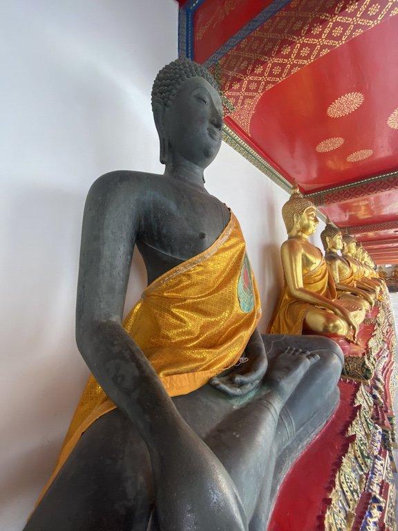 Bangkok erleben, Wat Pho Besuch liegender Buddha