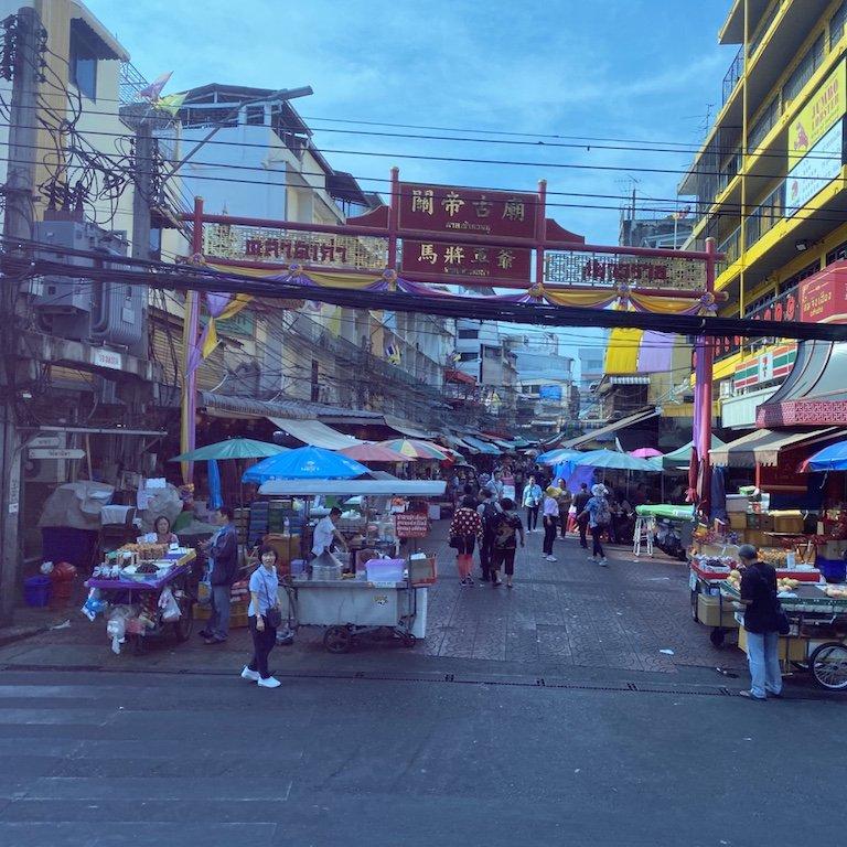 Bangkok entdecken vom Bus aus, Chinatown, Highlight