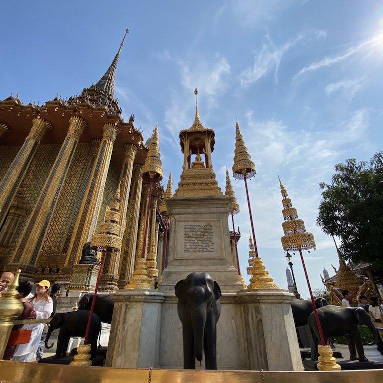 Sehenswürdigkeiten von Bangkok, im Grand Palace