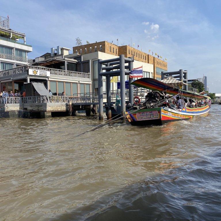 Bootsfahrt Ausflug in Bangkok, Highlight und Must Do