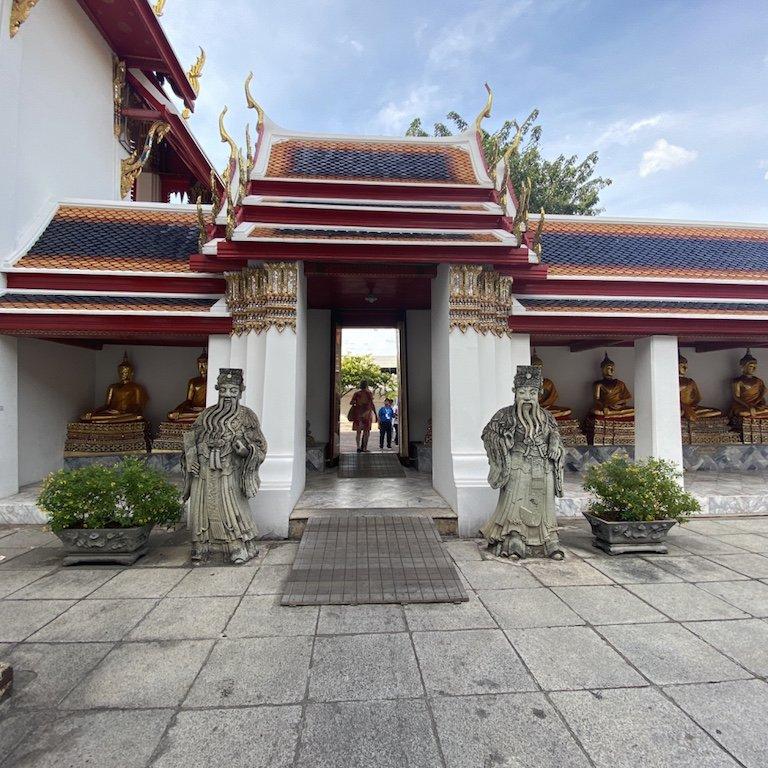 Tempel Wat Pho, Bangkok, Buddha