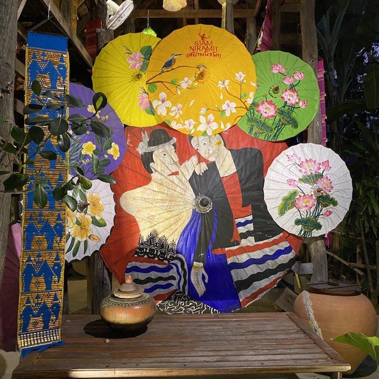 Highlights von Bangkok, Niam Siramit Künstlerdorf Detail