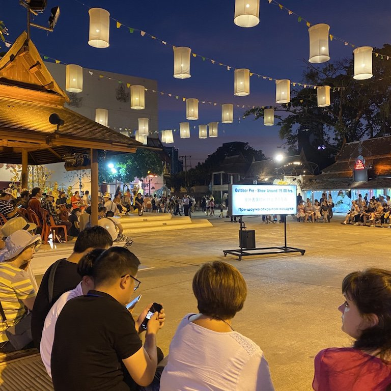 Highlights von Bangkok, Niam Siramit Vorshow