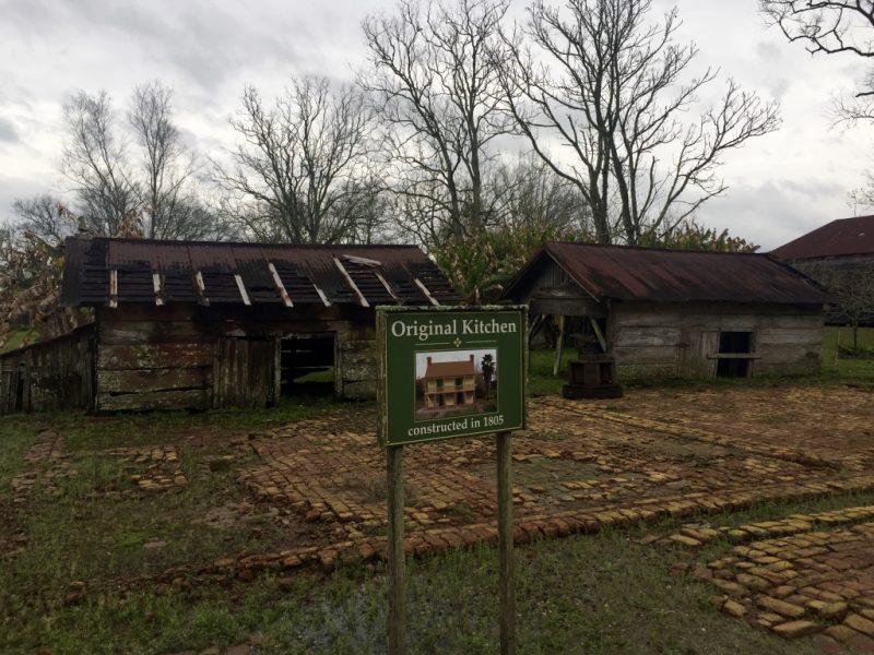 Besuch der Laura Plantation Louisiana - Küche