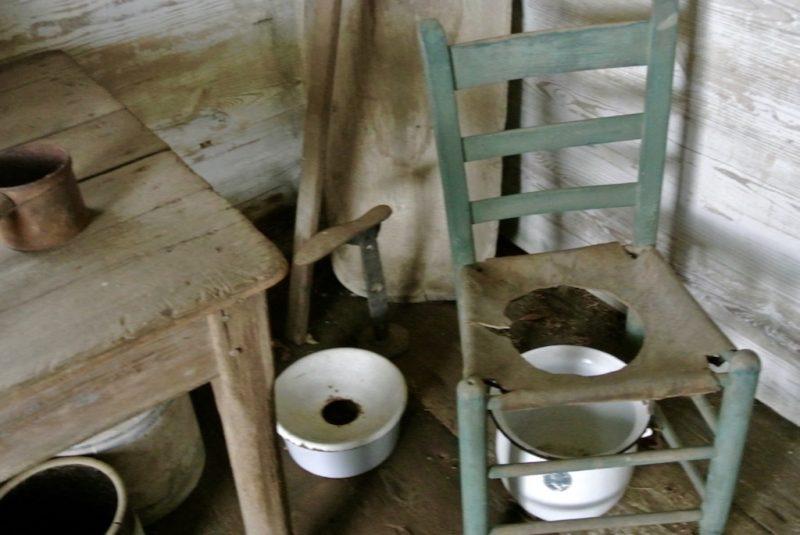 Besuch der Laura Plantation Louisiana Sklavenhütte