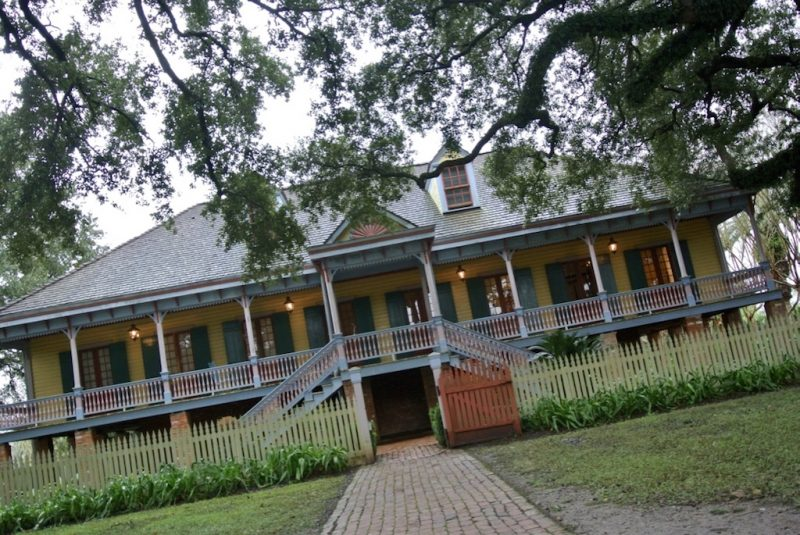 Besuch der Laura Plantation Louisiana Villa