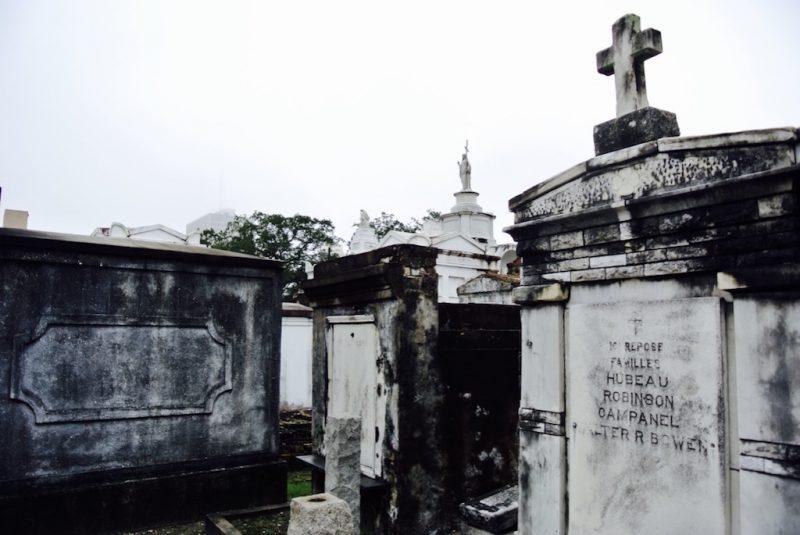 New Orleans , Gräber auf dem Friedhof Sl. Louis