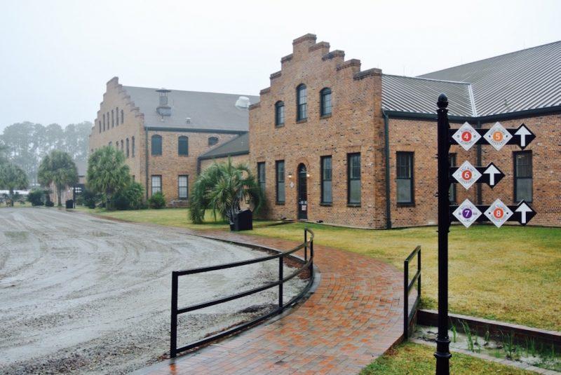 Fabrik von Tabasco auf Avery Island zu sehen