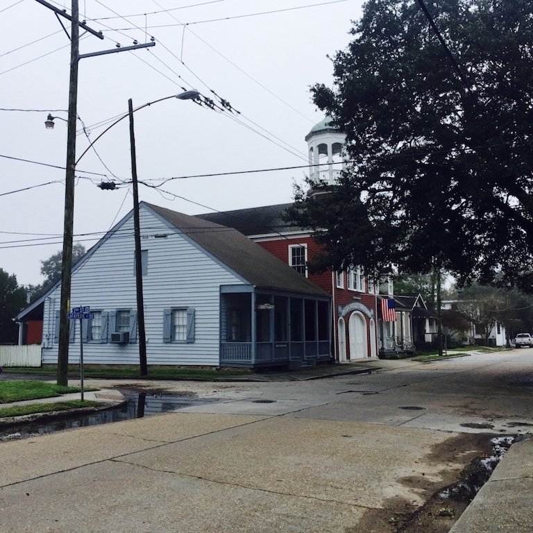 Roadtrip durch Louisiana, Kitty Haus einer Familie in der Stadt Gretna