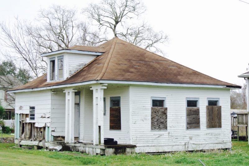 Louisiana, Hauer um Lafitte in nicht gutem Zustand