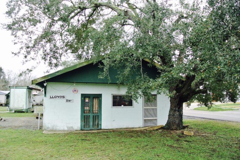 Louisiana, bei Lafitte, Haus mit Café