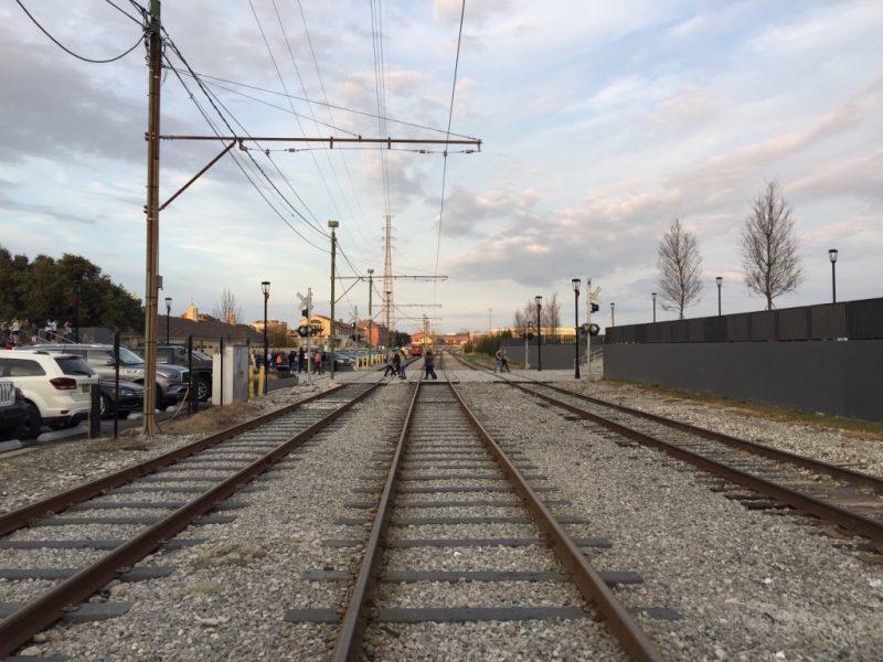Louisiana in New Orleans, Eisenbahnlinienen