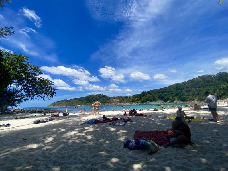 Phuket auf eigene Faust entdecken - eine Kreuzfahrt in Südostasien. Freedom Beach.