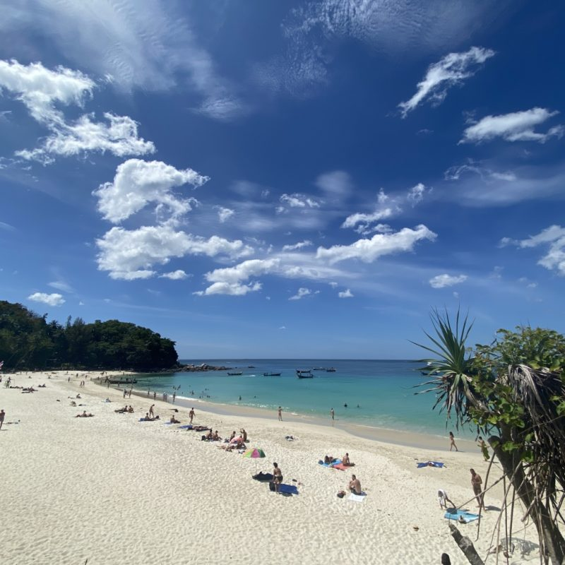 Phuket auf eigene Faust erleben - eine Kreuzfahrt in Südostasien. Freedom Beach.