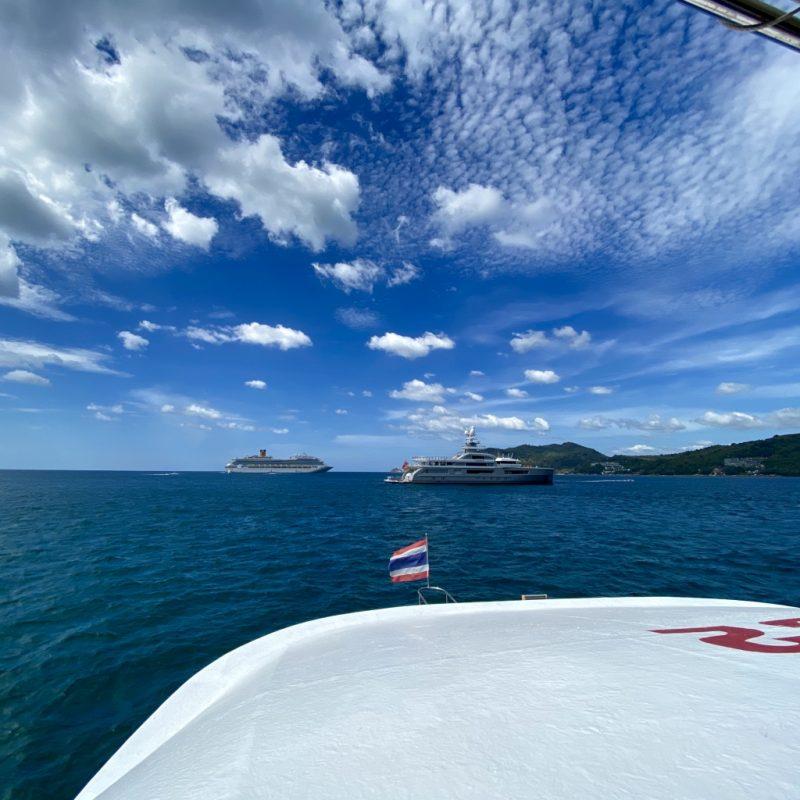Phuket auf eigene Faust - eine Kreuzfahrt in Südostasien. Costa Fortuna.