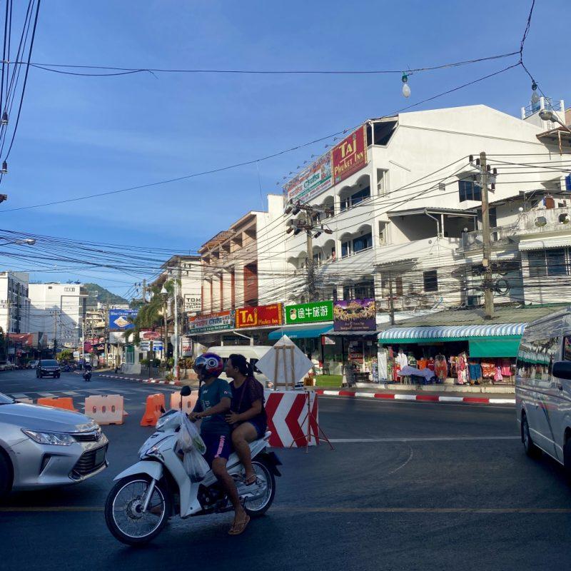 Phuket auf eigene Faust - eine Kreuzfahrt in Südostasien. Unterwegs in Patong Beach.