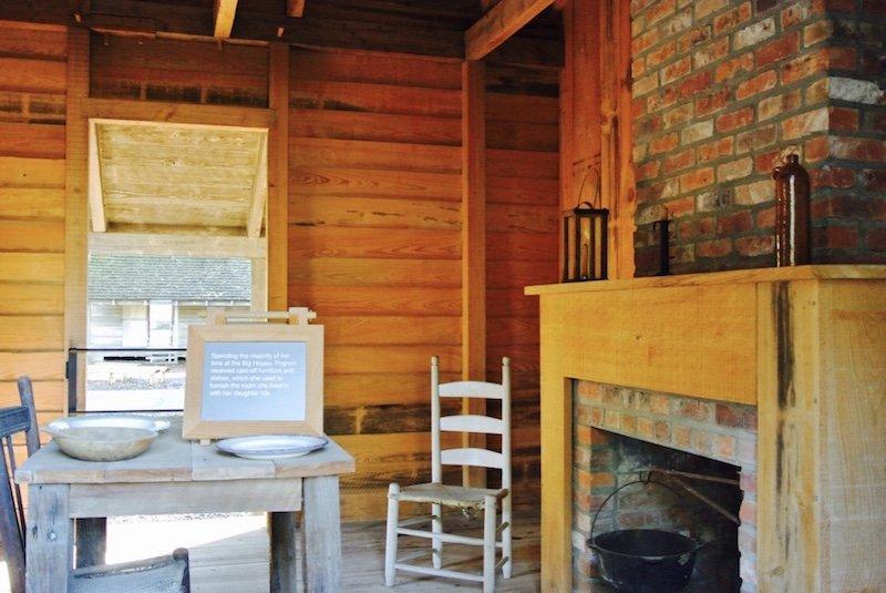 Sklavenhütte - Ausflug und eine Nacht auf Oak Alley Plantation in Louisiana