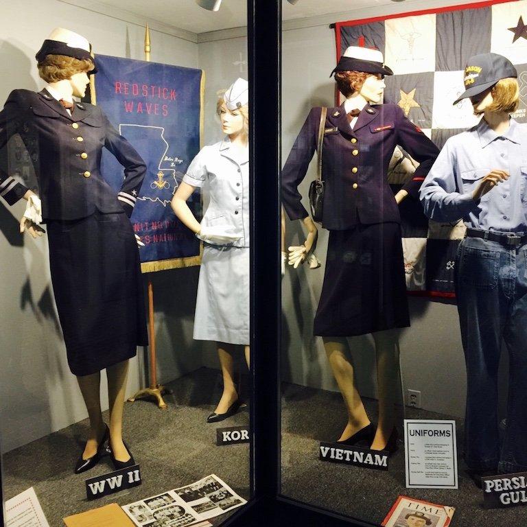 Louisiana, Baton Rouge, im USS Kidd Veterans Museum