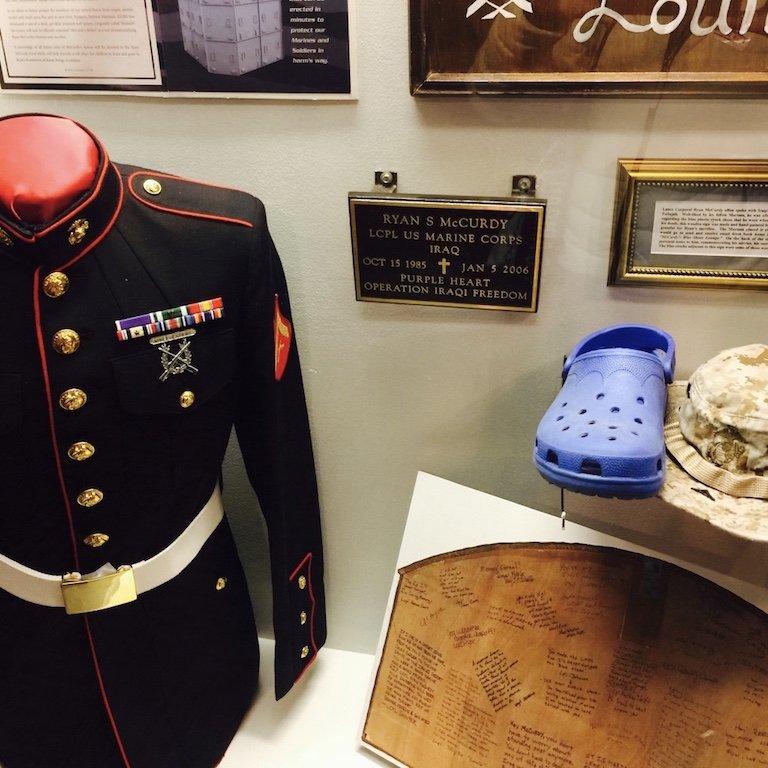Louisiana, Baton Rouge, Ausstellung im USS Kidd Veterans Museum