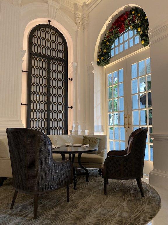 Raffles Hotel innen Main Lobby