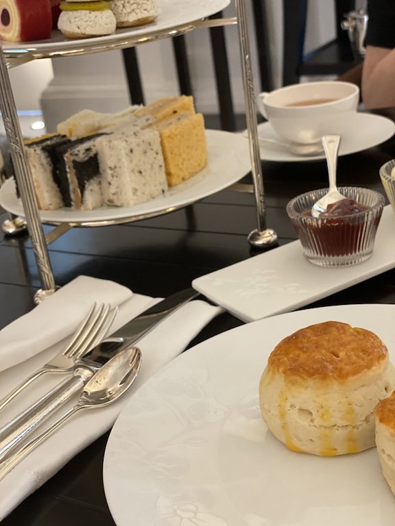 Raffles Hotel Afternoon Tea