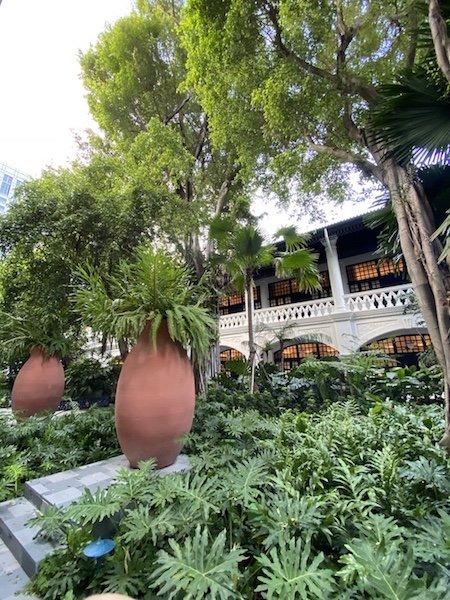 Raffles Hotel innen - Details