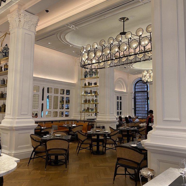 Raffles Hotel Afternoon Tea - Tiffin Room