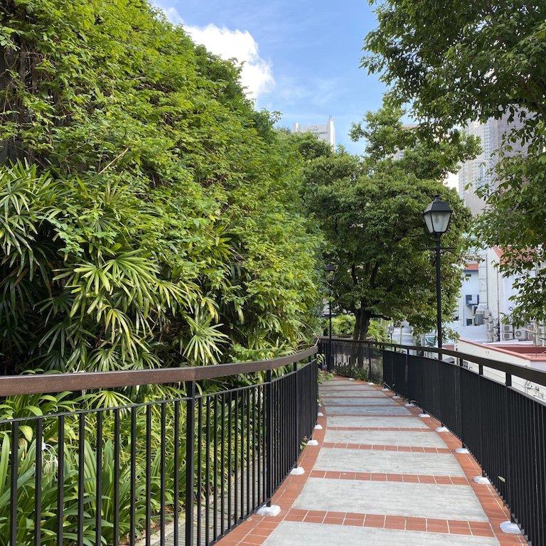 Im Ann Slang Hill Park in Singapur