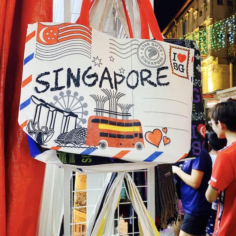 Singapur Souvenir Tasche