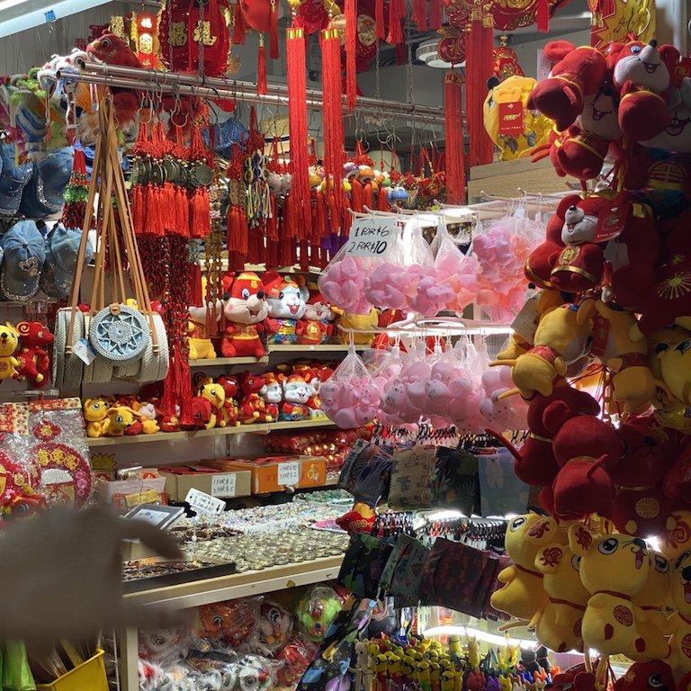 Viele Singapur Souvenirs
