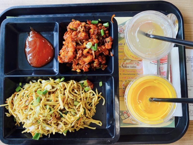 Essen im Komala's, your vegetarian Restaurant