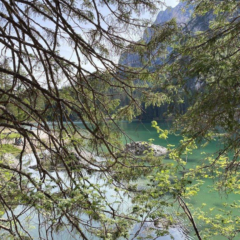 Pragser Wildsee - Blick auf See und Natur
