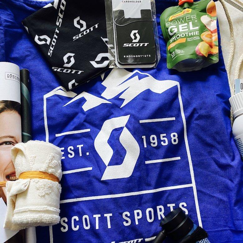 Produkte im Goddie Bag für die Teilnehmerinnen