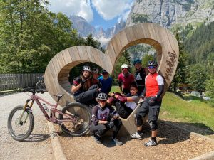 Glückliche Bike Women Camp 2020 Teilnehmerinnen