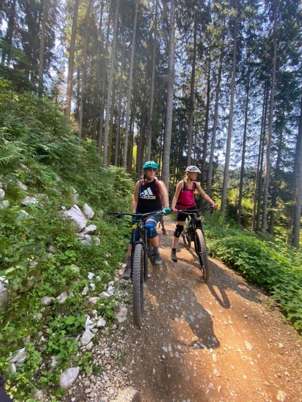 Bike Women Camp 2020 Teilnehmerinnen