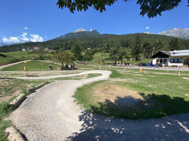 Pumptrack in Andalo im Trentino