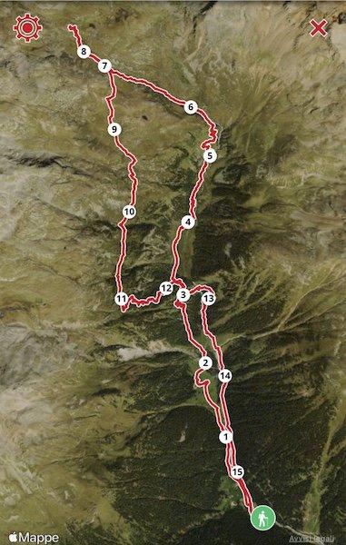 Wanderung zur Dorigoni Hütte im Stilfser Joch Nationalpark