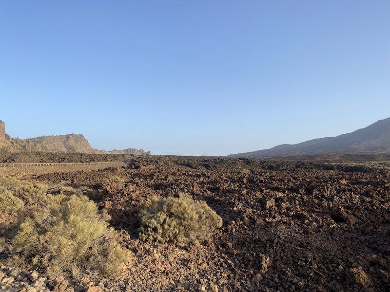 Blick in die Canadas del Teide im Nationalpark